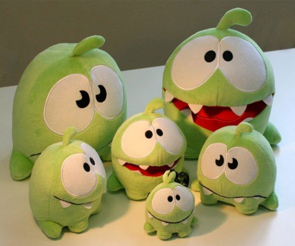 Cut the Rope's Om Nom Goes Plush