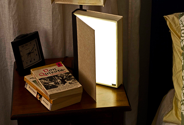 diy book light by steve hoefer