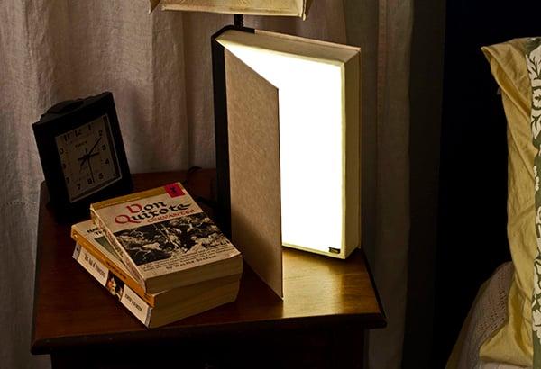 diy book light by steve hoefer