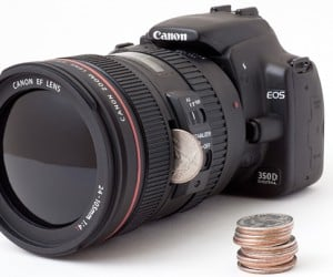 Another DSLR Camera Bank Helps You Save Up for an Actual Camera