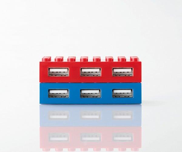 elecom lego toybrick usb hub 2