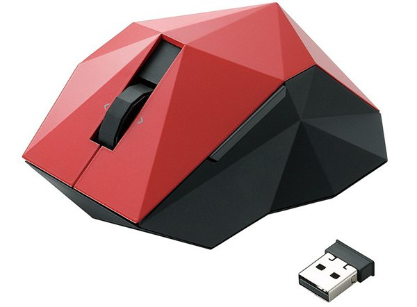 elecom nendo orime wireless usb mouse