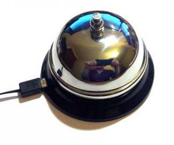 USB Bell Dings When You've Got Mail