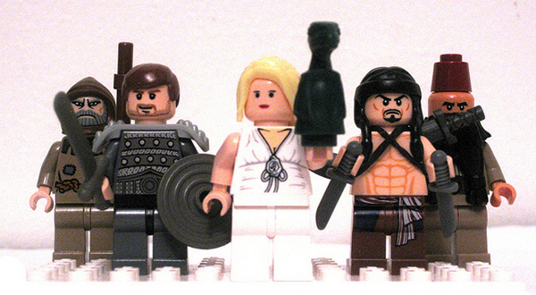 game of thrones minifigs by sam beattie 1