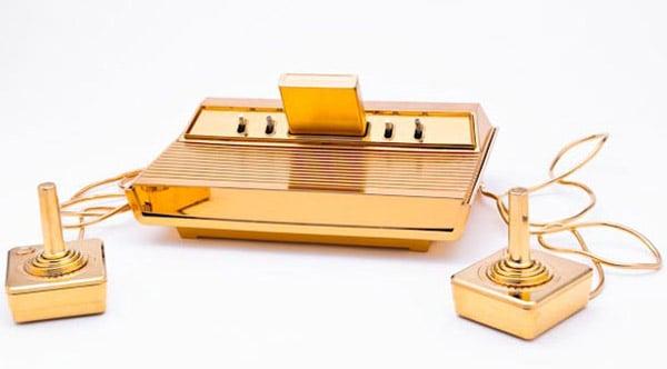 gold plated atari 2600 t