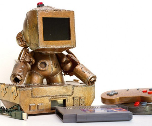 Custom Munny Figure Has Working NES Built-in