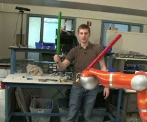 Stanford Engineers Create JediBot, Slowest Jedi Ever