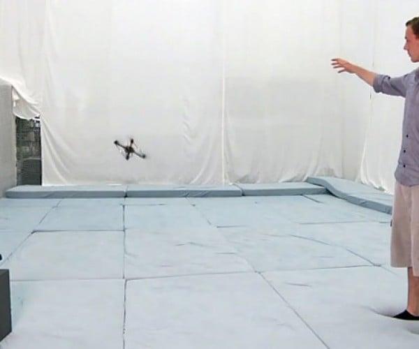 Kinect + Quadrotor = Awesome