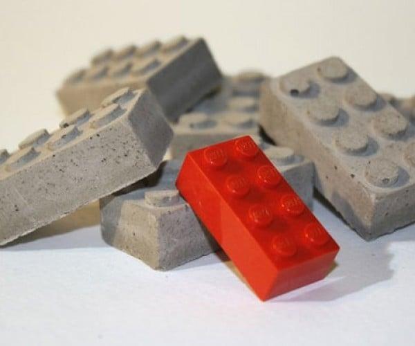 Concrete Building Blocks Look Like LEGOs