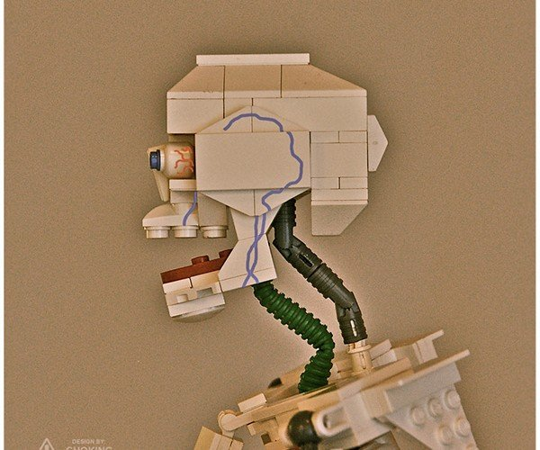 lego skeleton by clay morrow aka choking hazards 4