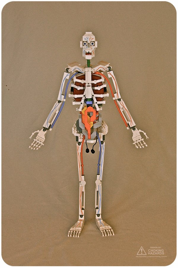 lego skeleton by clay morrow aka choking hazards