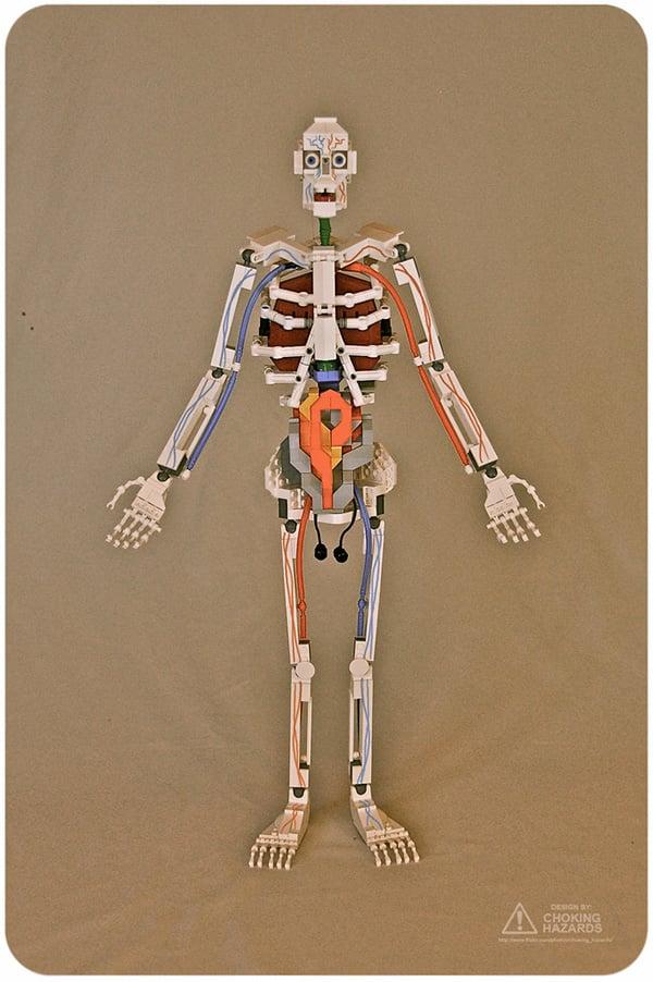 lego skeleton by clay morrow aka choking hazards