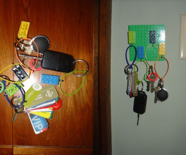 DIY LEGO Key Holder is Simple, Ingenius