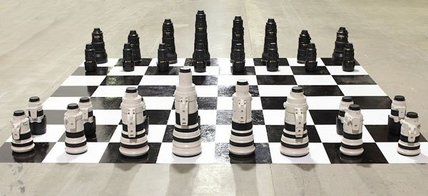DSLR Lens Chess