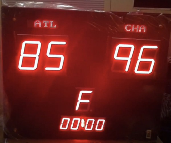DIY Live NBA Scoreboard: Just in Time for the, Uh, Lockout.