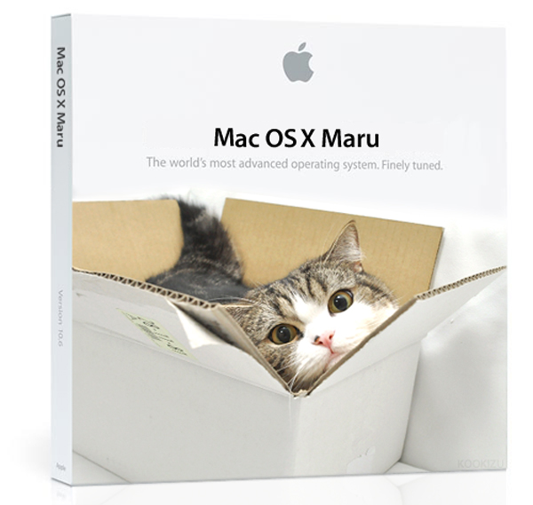 mac os x maru by kookizu
