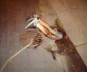 Guy Gets Stuck in Manhole Trying to Get His Phone, Blames Gang Members