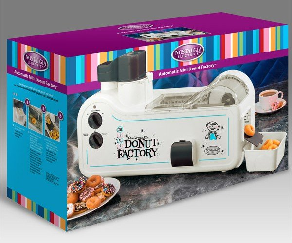 Automatic Mini Donut Factory Brings Out the Homer in Us All
