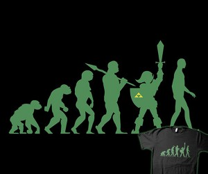 Missing Link T-shirt: Does This Mean We Devolved?