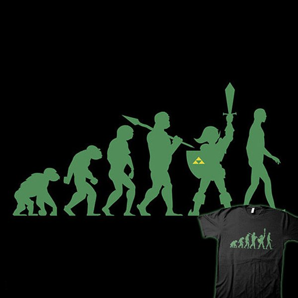 Missing Link T Shirt Does This Mean We Devolved Technabob