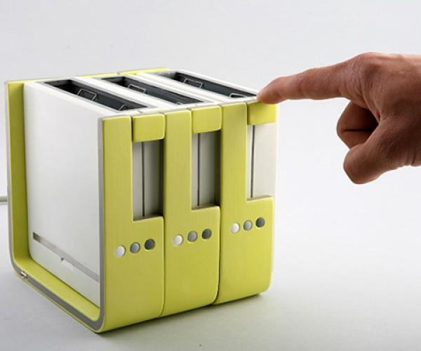 modular toaster concept by hadar gorelik 2