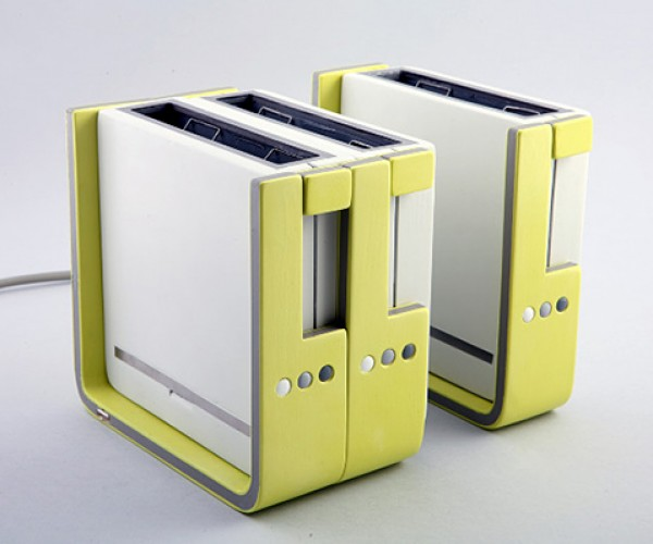 Modular Toaster Concept: Form Toaster and Toaster! Form Toaster and Toaster! And I'll Form the Toaster!