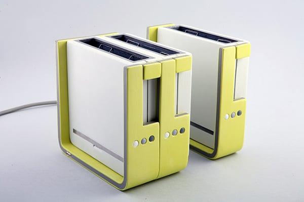 modular toaster concept by hadar gorelik