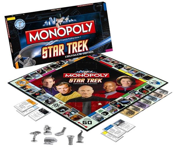 monopoly star trek continuum edition