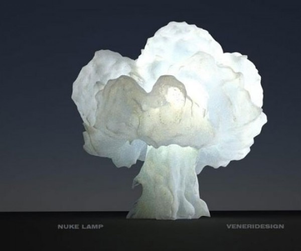 Mushroom Cloud Lamp: Nuke or Vegetable?