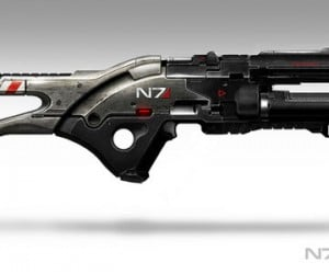 Mass Effect 3 N7 Rifle Prop Will Make You J*zz Your Pants (and You Can't Have It)