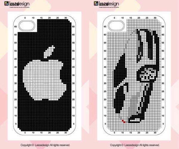 neostitch iphone 4 cross stitch case by connect design 7