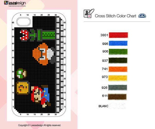 neostitch iphone 4 cross stitch case by connect design 8