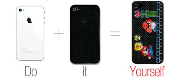 neostitch iphone 4 cross stitch case by connect design