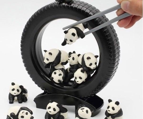 Poor Chopstick Skills? Eat a Bowl of Pandas