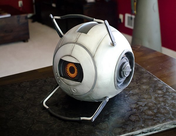 portal 2 space core cake by mikes amazing cake from sharkhats