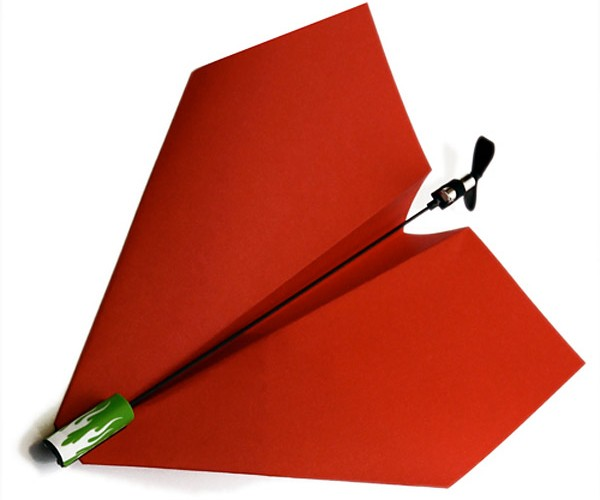 Power Up Propels Paper Planes