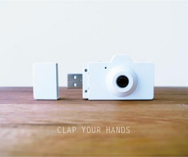 Powershovel CLAP Digital Camera: Mini-malistic