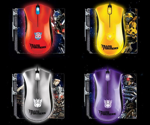 I Wish These Special Edition Transformers Razer DeathAdder Computer Mice Could Transform