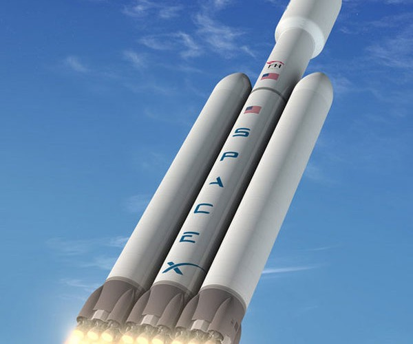 SpaceX Breaks Ground on Launch Site for Gigantic Falcon Heavy Rocket