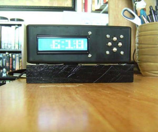 Tetris Alarm Clock Will Make You Beg for the Line Piece