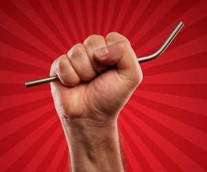 Titanium Drinking Straws Laugh In the Face of Plastic Straws