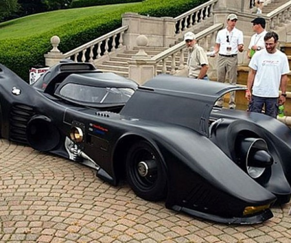 Turbine-Powered Batmobile Hits the Streets