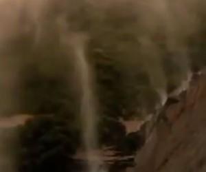 Aussie Waterfalls Flow Upwards!