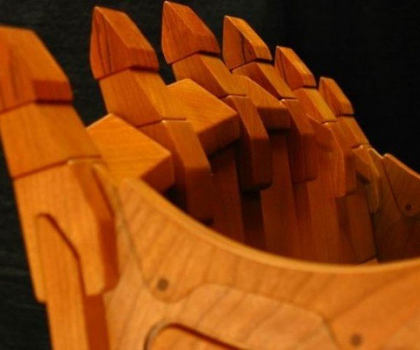 Wooden 5230 B front shovel