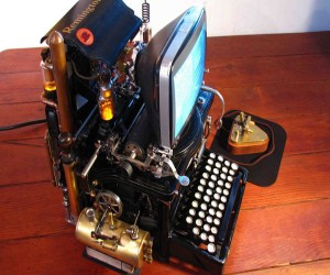 Wozniak's Conundrum: Mac + Typewriter = Steampunk PC