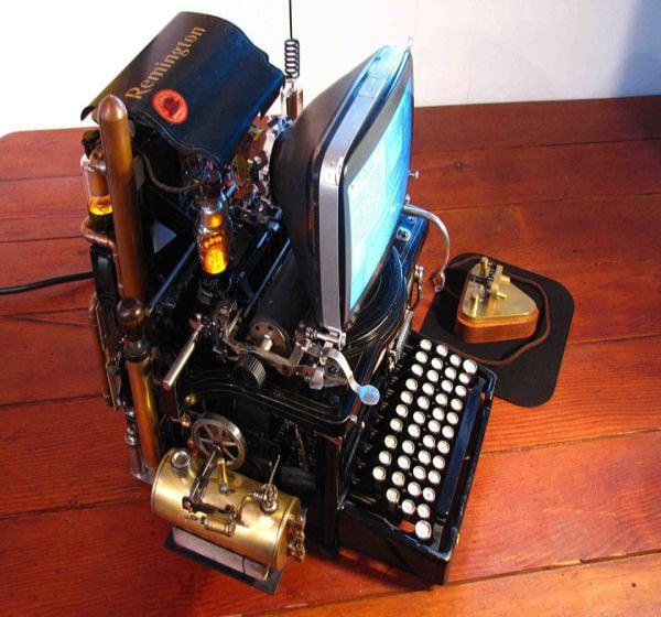 wozniaks conundrum steampunk mac mod by steve la riccia