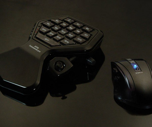 XCM XFPS Commando PRO Keyboard and Mouse for Serious Console FPS Fragfests