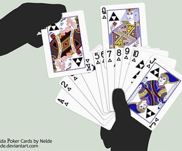Zelda Playing Cards Introduce a Fifth Suit