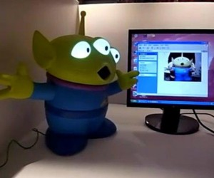 Toy Story Giant Alien USB Webcam Will Take Over Your Desktop