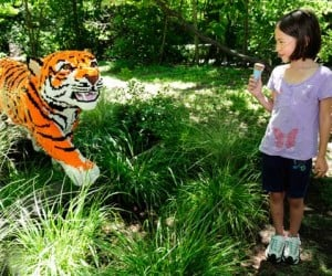 Life-Sized LEGO Animals at the Bronx Zoo: No Honey, that Tiger Won't Eat You!
